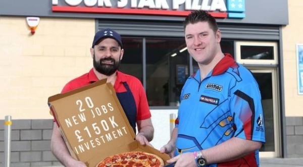 Four star pizza serves up 20 new jobs